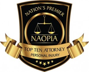 top ten attorney badge
