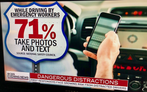 First Responders Injured By Distracted Drivers